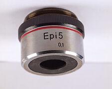 Nikon EPI 5x /.1 M27 thread Microscope Objective