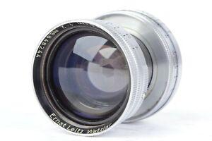 Ernst Leitz Wetzlar Summitar 5cm f/2 Collapsible Lens for L39 LTM  #P8244