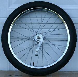 Schwinn S-2 Sting-Ray Coaster Brake 20 Inch Rim & Original Tire Both Dated 1985