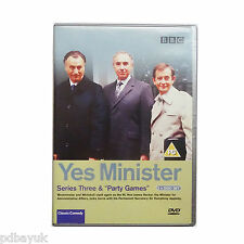 Yes Minister - Series Three: Paul Eddington (DVD, 2 Discs, BBC, Comedy) [0619]