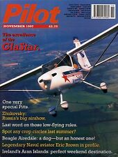Pilot Magazine 1997 November Beagle Airedale,Glastar,Pitts Special