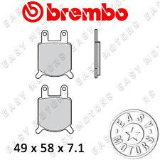 07GR02.04 COPPIA PASTIGLIE FRENO BREMBO ANTERIORE BETA TS 125 83>