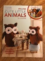 Leisure Arts More Cute Little Animals To Crochet 028906051254