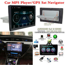 "1Din 9"" HD Touch Screen Car Bluetooth Radio Stereo MP5 Player GPS Sat Navigator"