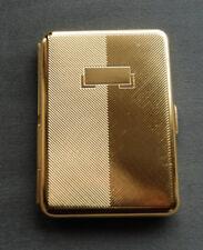 Hansaware Berlin Brass Slim Pocket Cigarette Case Made in Germany 843/B 83