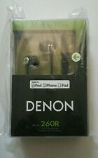 Denon AH-C260R In-Ear Headphones (Black)