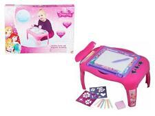 Children's Kids Disney Princess 2 in 1 Activity Desk Ideal Christmas Gift