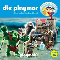 DIE PLAYMOS - FOLGE 45: RITTER AUßER RAND UND BAND  CD NEW