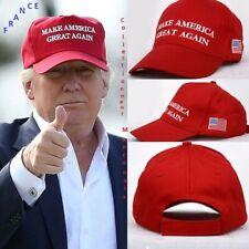 Casquette Donald Trump Make America Great Again  avec drapeau  Cap 2016, Neuf