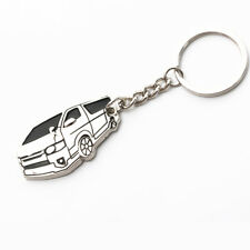 New Zinc-Aluminium Alloy Keychain Key Ring for Toyota Hiace 200
