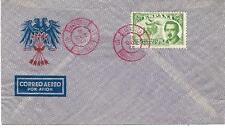 España. Dos sobres con sellos del Conde de San Luis y con matasellos especiales
