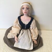 Artisan Doll Victorian Renaissance Doll Artist Made OOAK By Stacey Kelley
