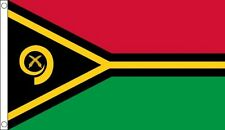 Vanuatu Flag 5 x 3 FT - 100% Polyester With Eyelets - Commonwealth Games