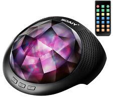 SOAIY LED Luz de Colores Cambiables Proyector para Relajación con Bluetooth,