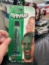 0.7oz Halloween Green Washable Cream Makeup New!!!