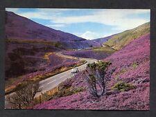 C1970's View of a Car Driving Through Slochd Pass, Inverness, Scotland.