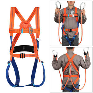 Climbing Safety Harness Fall Arrest Harness Full Body Fall Protection Harness