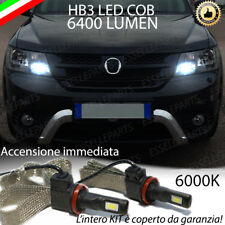 KIT FULL LED FIAT FREEMONT LAMPADE ABBAGLIANTI LED HB3 9006 6000K NO ERROR