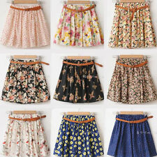 16 Colors Mini Cute Casual Summer Chiffon Short Colorful Skirts Girl Women Skirt