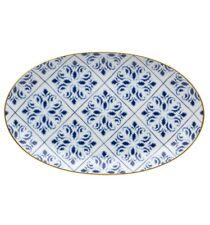 Vista Alegre Transatlântica Small Oval Platter - Set of 2