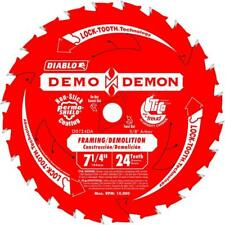 Diablo D0724DB10 7-1/4 in. 24-Tooth Demo Demon Framing/Demolition Saw Blade