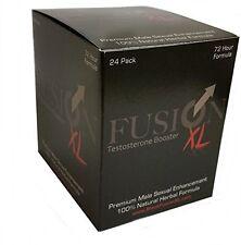 24 x Fusion XL Sex Pill Testosterone Booster Male Enhancement Erection Pill