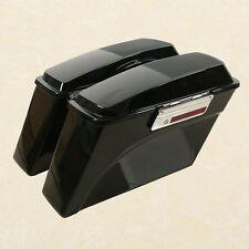 Hard Saddle Bags+ Speaker Lid Latch Key For Harley Touring Models FL 1994-2013