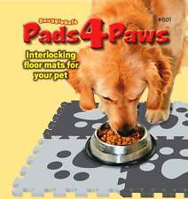 SnuggleSafe Pads4Paws - interlocking non slip floor mats for pets!