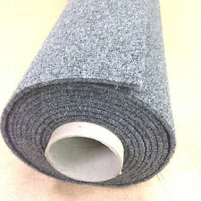 Car Carpet van lining boat liner 20sq mtrs roll (10m x 2m) SMOKE GREY RF