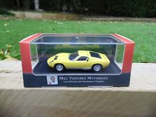 ATLAS EDITIONS  - 1966 LAMBORGHINI MIURA  P400 - 1/43 .SCALE MODEL CAR