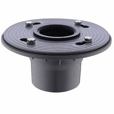 "2"" PVC Shower Drain Base with Rubber Gasket Floor Drain Flanges COUPLING"