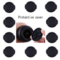 10X 40.5mm Plastic Snap on Front Lens Cap Cover for Nikon Canon Sony Fujifilm