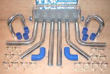 Ladeluftkühler SET *NEU* 33tlg Kit: LLK 55x14,Rohre 64 mm,Sch.,Bögen,Schläuche b