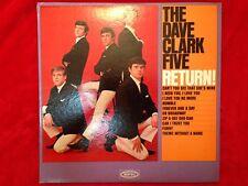 """Dave Clark Five  """"Return""""  LP  1964  Mono  Epic  LN-24104  Rock  33rpm  USA  NM"""