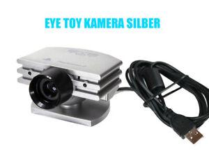 Original Playstation PS2 EyeToy Kamera in Silber