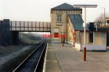 PHOTO  1989 DAISY HILL RAILWAY STATION - DOWN SIDE THE CLASSIC CONFIGURATION FOR