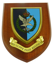 THE GLIDER PILOT REGIMENT CLASSIC HAND MADE REGIMENTAL STYLE MESS PLAQUE