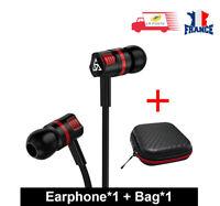 Ecouteurs Super basse avec Microphone pour téléphone Mobile Samsung Xiaomi Lg