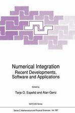 Numerical Integration : Recent Developments, Software and Applications 357...