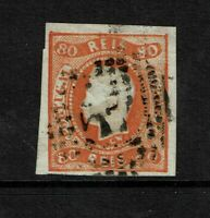 Portugal SC# 22, Used, Hinge Remnant, backs stamped - S7752