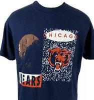 Vintage Chicago Bears T Shirt NFL Single Stitch Tee 80s 90s USA Football Hanes