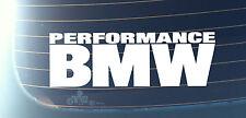 PERFORMANCE BMW Car Decal Sticker Series1,3,5 M3 M5 E30 E34 E36 E38 E39 E46(M82)