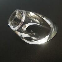 Lampen Ersatzglas Kristall G4 klar Lampenglas Glas Lampenschirm Loch 1,1cm