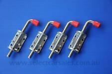 4 x Spring Bolt Latch large trailer tail gate railing truck ute fence float ramp
