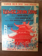 VOCAL SELECTION Rodgers & Hammerstein FLOWER DRUM SONG  Sheet Music Song Book