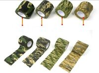 1 Roll Outdoor Hunting Camping Camo Rifle/Gun Wrap Decor Camouflage Stealth Tape