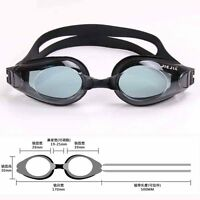 Myopia Swimming Goggles -1.5 to -8.0 Near Lens Anti-Fog Waterproof Eye Protector