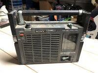 SONY FM/AM/VHF Weather 3 Band Radio Model No TFM-8100W, Repair