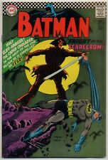 Batman #189 VG+ 4.5 --> 1st Silver Age appearance The Scarecrow <--