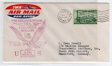 USA: 1950 FIRST FLIGHT COVER TO GERMANY (C22514)